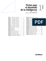 6558536 Fichas Desarrollo de La Inteligencia 1