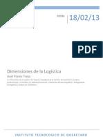 Dimensiones de La Logistica