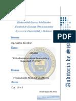 PS3 ADMINISTRACION DE DESEMPEÑO  Y CAPACIDAD -ADRIANA LLAMATUMBI