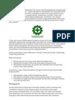 Sekilas Tentang Sistem Manajemen K3