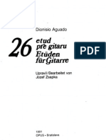 Dionisio Aguado - 26 Studies for Guitar