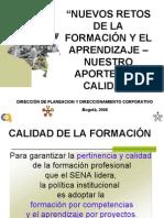 NUEVOS RETOS DE LA FORMACIÓN Y EL APRENDIZAJE Nov