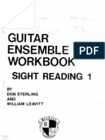 Guitar Ensemble Workbook Sight Reading Berklee School of Music