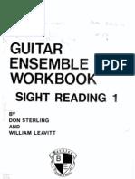 Guitar Ensemble Workbook Sight Reading Berklee School of Music