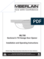 ML700 Installation Manual
