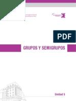 Unidad 5 Grupos y Semigrupos