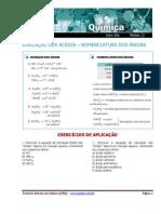exercícios de formulas
