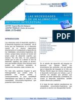 Paper estudio de las necesidades linguísticas de un alumno con retraso intelectual (1)
