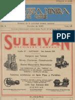 Riqueza Minera de Chile 1930