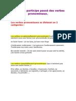 Accord Du Participe Passe Des Verbes Pronominaux