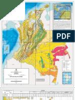 Mapa Geologico Colombia 2006