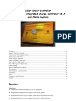 Solar Dryer Controller Manual