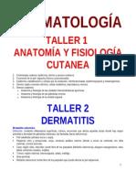 Talleres de Dermatologia