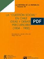 Grez Toso Estudio Crítico La Cuestión Social en Chile COMPLETO