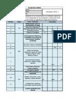 Plan de Curso Filosofía de la Ciencia Semestre 2013-1