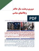 استاد بصیر صباح در تارنمای پندار افغانستان - هشت سال حاکمیت حامد کرزی