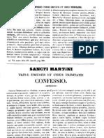 Martinus Episcopus Turonensis, Trinae Unitatis Et Trinitatis Confessio, MLT
