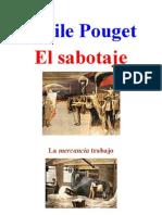 Emile Pouget. El Sabotaje
