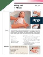 Newborn Bathing and Nursery Simulator M59, M63