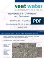 Workshop A: Wauwatosa's I&I Challenges and Successes Bill Wehrley and Chris Samborski