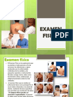 EXAMEN FISICO Practicas Hospi
