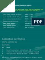 CLASIFICACIÓN DE LOS ACEROS