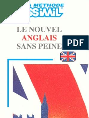 SANS TÉLÉCHARGER AMERICAIN ASSIMIL PEINE PDF ANGLAIS