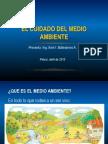 CUIDADO DEL MEDIO AMBIENTE escuelas.ppt
