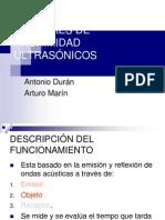 SENSORES DE PROXIMIDAD ULTRASÓNICOS 5