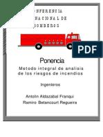 Analisis de Los Riesgos de Incendio