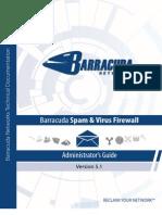 Barracuda Spam & Virus Firewall 5.1 AG US