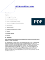 Demand Forecasting Eco-2