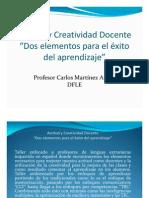 ACTITUD DOCENTE HACIA LA CLASE DE ESPAÑOL