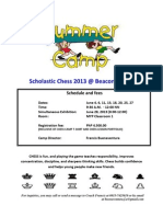 Scholastic Chess 2013