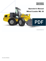 WL50 Wheel Loader Manual