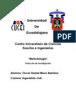 Metodologia Protocolo de Investigacion