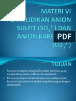 Karbonat Dan Sulfit