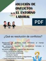 PPT RESOLUCIÓN CONFLICTOS CORTO Y EFECTIVO