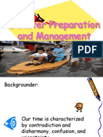 Disaster Preparation and Management