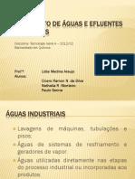 Tratamento de águas e efluentes industriais