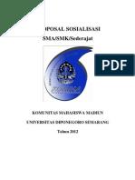 Proposal Sosialisasi Sma Cover