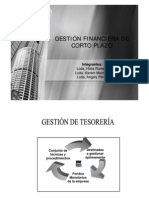 Gestion Financiera de Corto Plazo