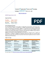 IJESET Cfp Academic Journal