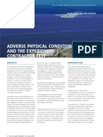 Adverse Physical Conditions in Contract