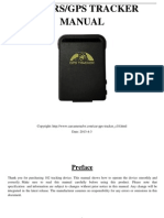 GPS102B GPS Tracker User Manual