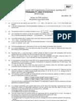 R7322306 Probability & Statistics
