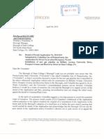 Pipeline Letter