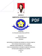 Referat Rhinitis Hormonal
