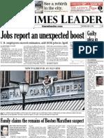 Times Leader 05-04-2013