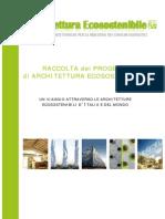 Raccolta Progetti Architettura Ecosostenibile